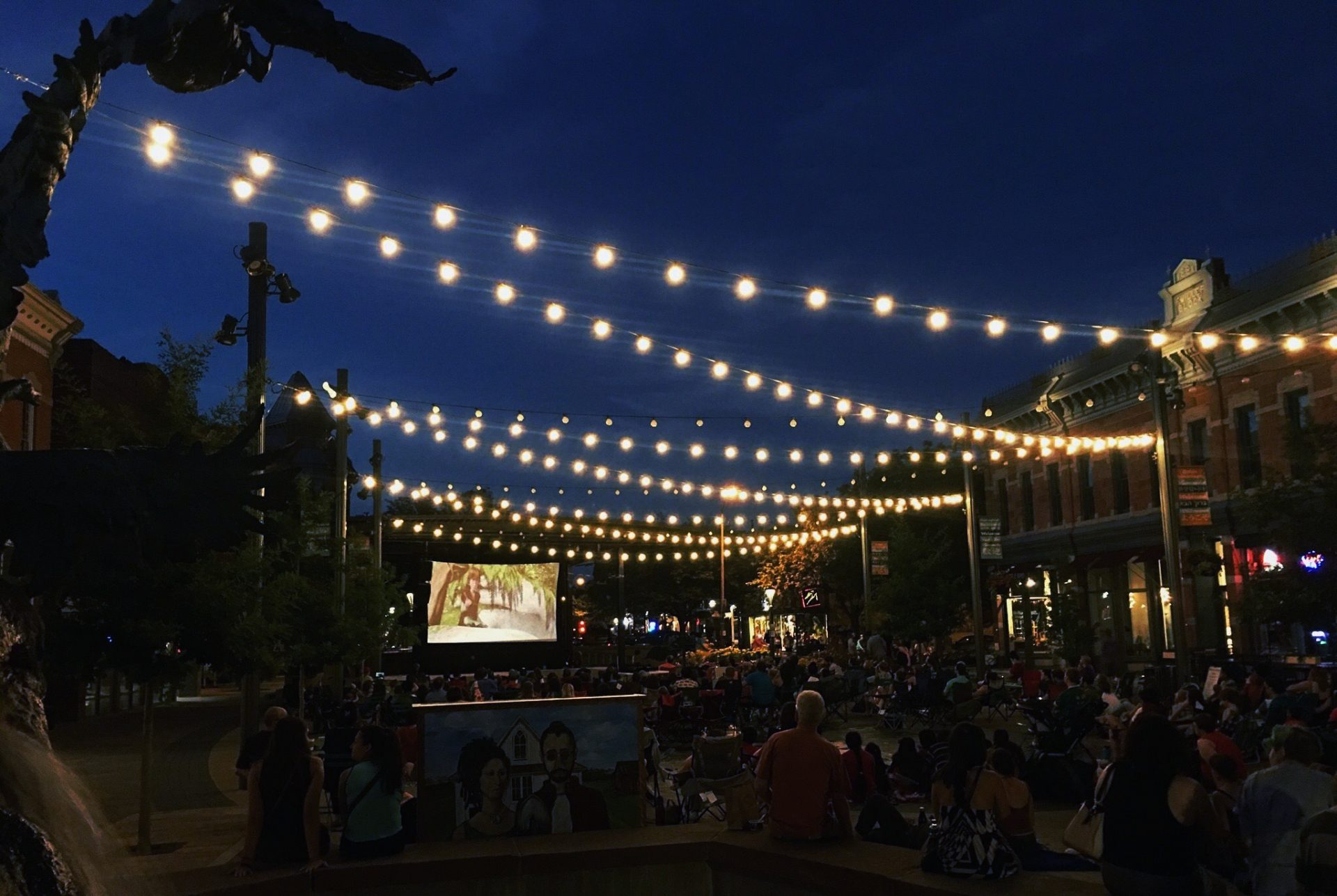 Outdoor Movie Nights In Old Town Square Movie Lineup