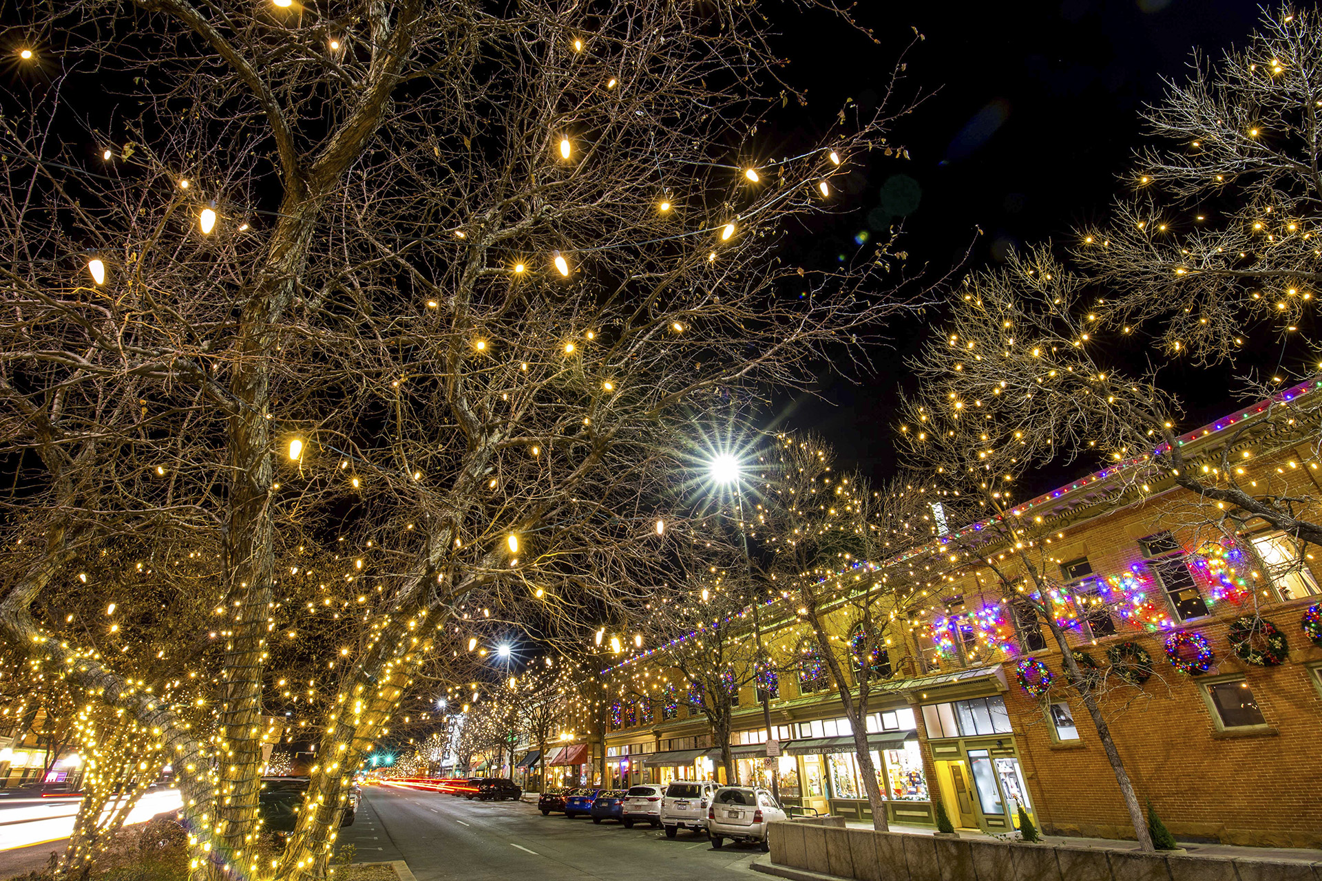 Downtown Holiday Lights Fort Collins